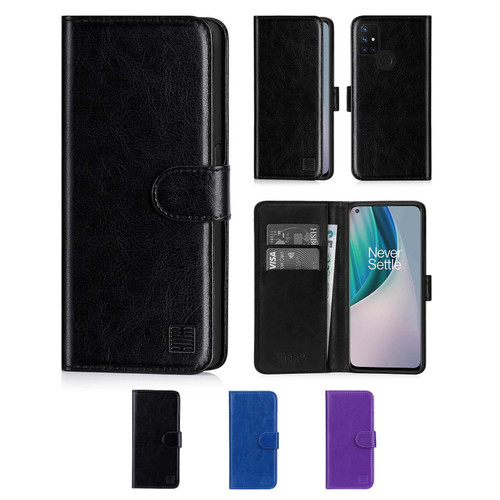 OnePlus Nord N10 5G 'Book Series' PU Leather Wallet Case Cover