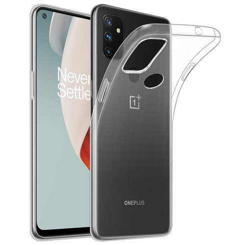 OnePlus Nord N100 'Clear Gel Series' TPU Case Cover - Clear