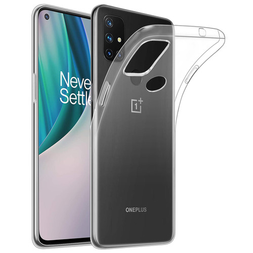 OnePlus Nord N10 5G 'Clear Gel Series' TPU Case Cover - Clear