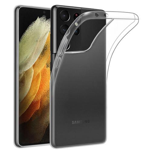 Samsung Galaxy S21 Ultra 'Clear Gel Series' TPU Case Cover - Clear