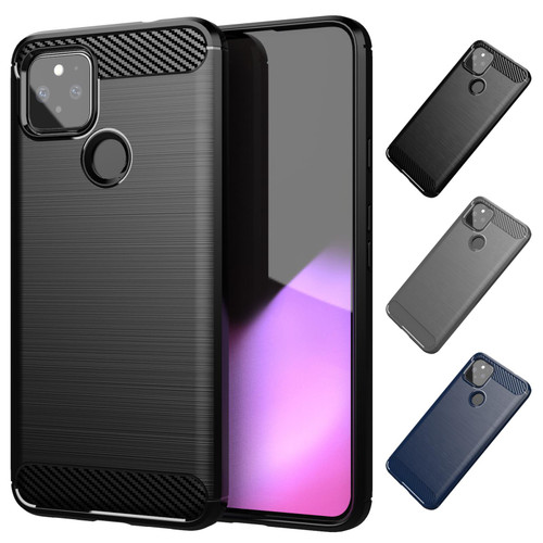 Google Pixel 4A 5G 'Carbon Series' Slim Case Cover