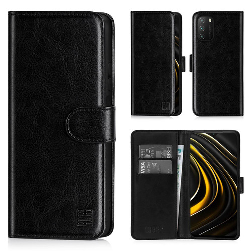 Xiaomi Poco M3 'Book Series' PU Leather Wallet Case Cover