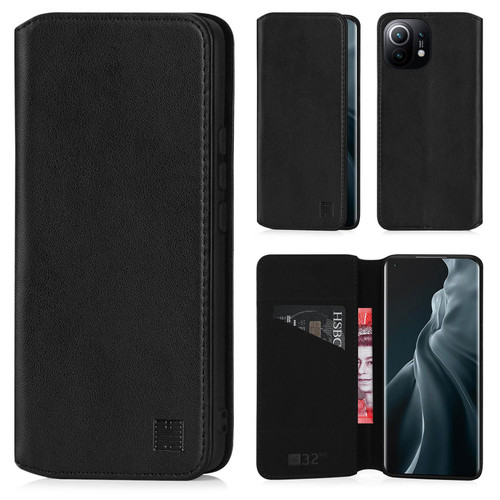 Xiaomi Mi 11 'Classic Series 2.0' Real Leather Book Wallet Case