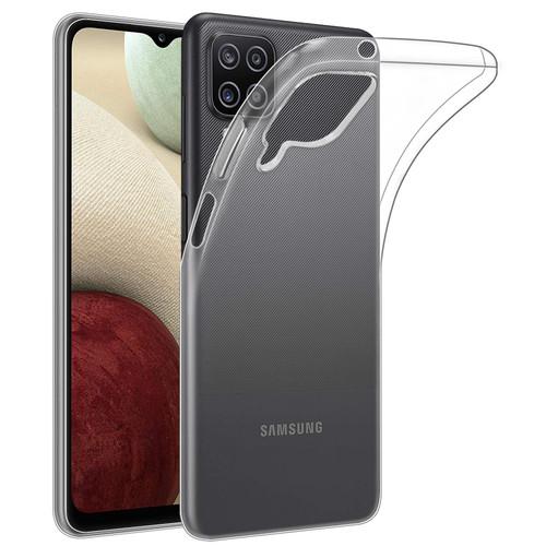 Samsung Galaxy A12 (2021) 'Clear Gel Series' TPU Case Cover - Clear