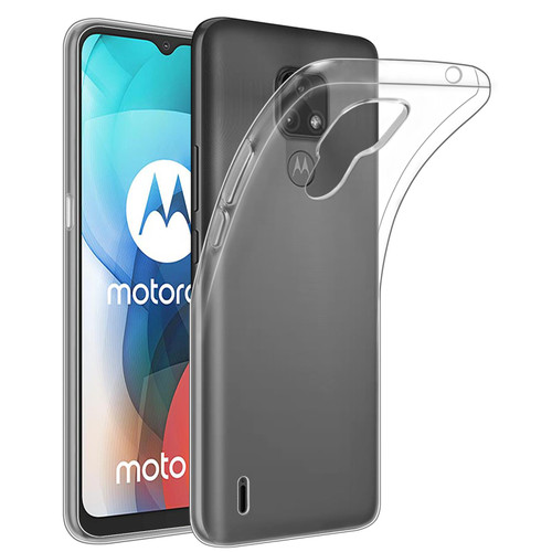 Motorola Moto E7 'Clear Gel Series' TPU Case Cover - Clear