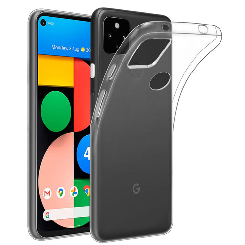 Google Pixel 4A 5G 'Clear Gel Series' TPU Case Cover - Clear