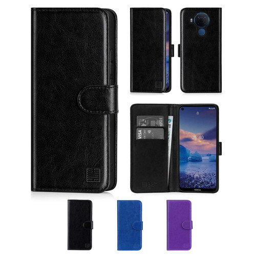 Nokia 5.4 'Book Series' PU Leather Wallet Case Cover