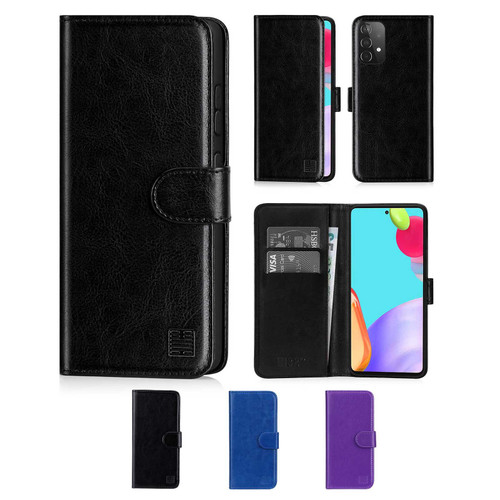 Samsung Galaxy A52 5G (2021) 'Book Series' PU Leather Wallet Case Cover