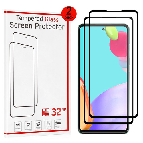 Samsung Galaxy A52 5G (2021) Tempered Glass Screen Protector - 2 Pack