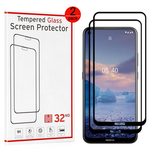 Nokia 5.4 Tempered Glass Screen Protector - 2 Pack