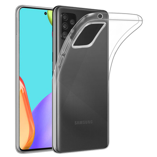 Samsung Galaxy A52 5G (2021) 'Clear Gel Series' TPU Case Cover - Clear