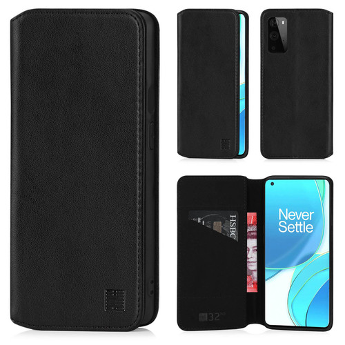 OnePlus 9 'Classic Series 2.0' Real Leather Book Wallet Case