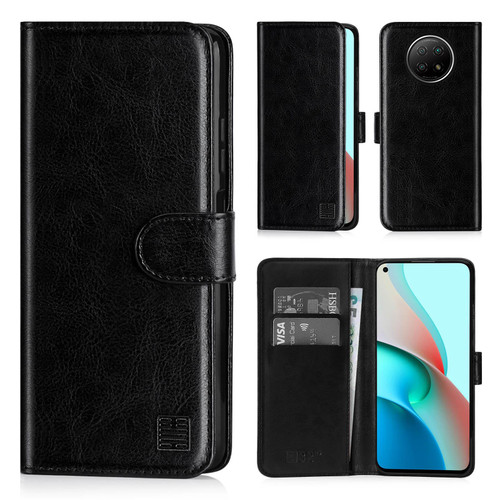 Xiaomi Redmi Note 9 5G / Redmi Note 9T 'Book Series' PU Leather Wallet Case Cover