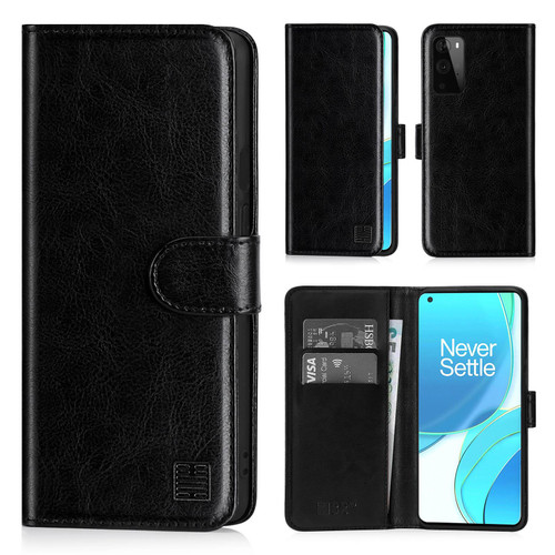 OnePlus 9 'Book Series' PU Leather Wallet Case Cover