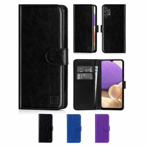 Samsung Galaxy A32 5G (2021) 'Book Series' PU Leather Wallet Case Cover