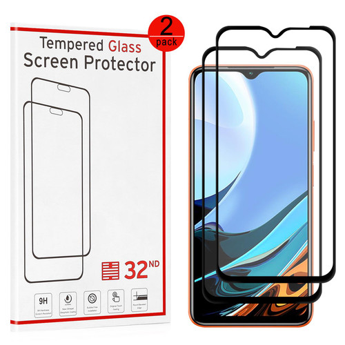 Xiaomi Redmi 9T Tempered Glass Screen Protector - 2 Pack