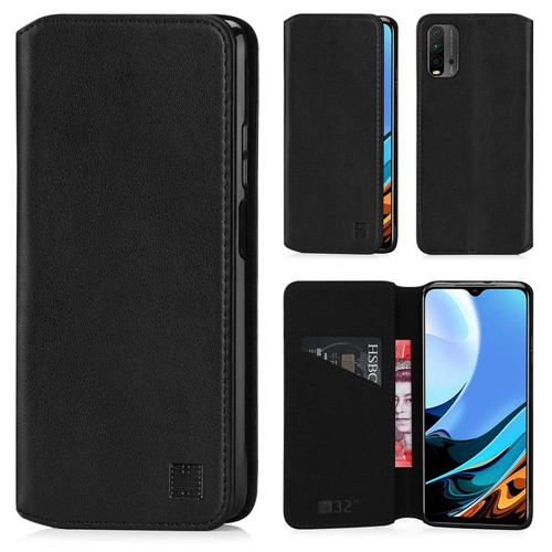 Xiaomi Redmi 9T 'Classic Series 2.0' Real Leather Book Wallet Case