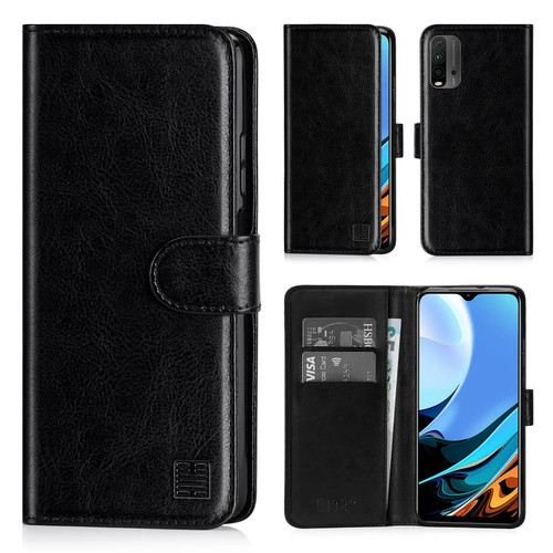 Xiaomi Redmi 9T 'Book Series' PU Leather Wallet Case Cover