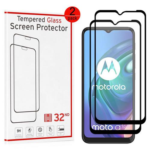 Motorola Moto G10 & Moto G30 Tempered Glass Screen Protector - 2 Pack