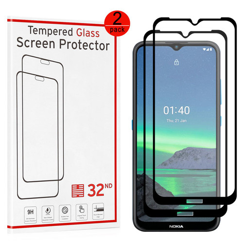 Nokia 1.4 Tempered Glass Screen Protector - 2 Pack