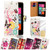 32nd faux leather design book wallet Nokia Lumia 530 Case.