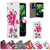 32nd stylish faux leather design book wallet Huawei Ascend G7 Case.