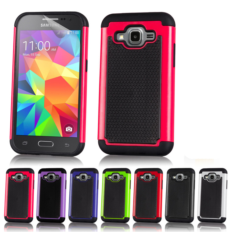 32nd dual-layer shockproof Samsung Galaxy Core Prime Case in a range of fantastic colours.