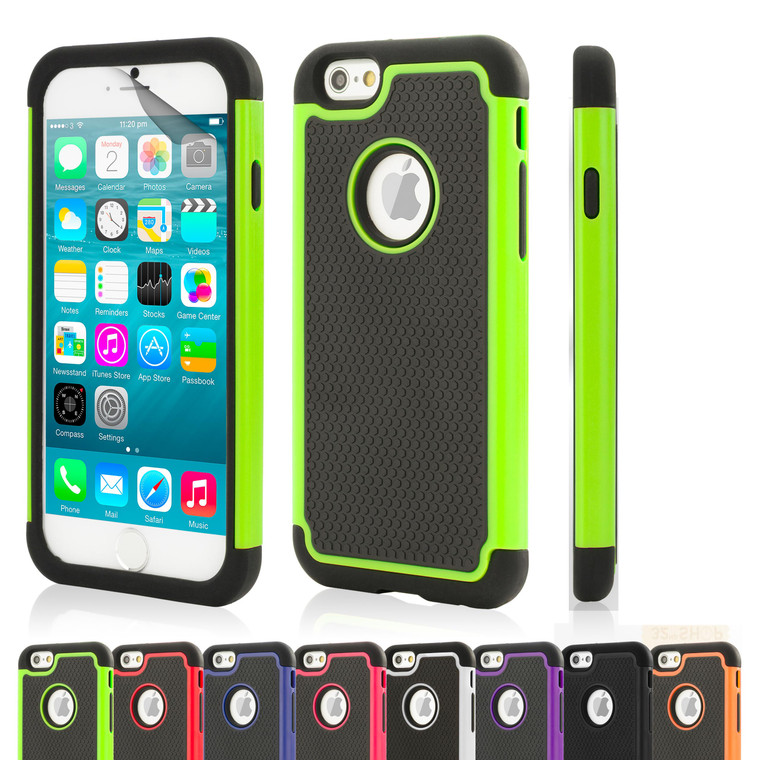 32nd dual-layer shockproof Apple iPhone 6 4.7 inch Case in a great range of colours.