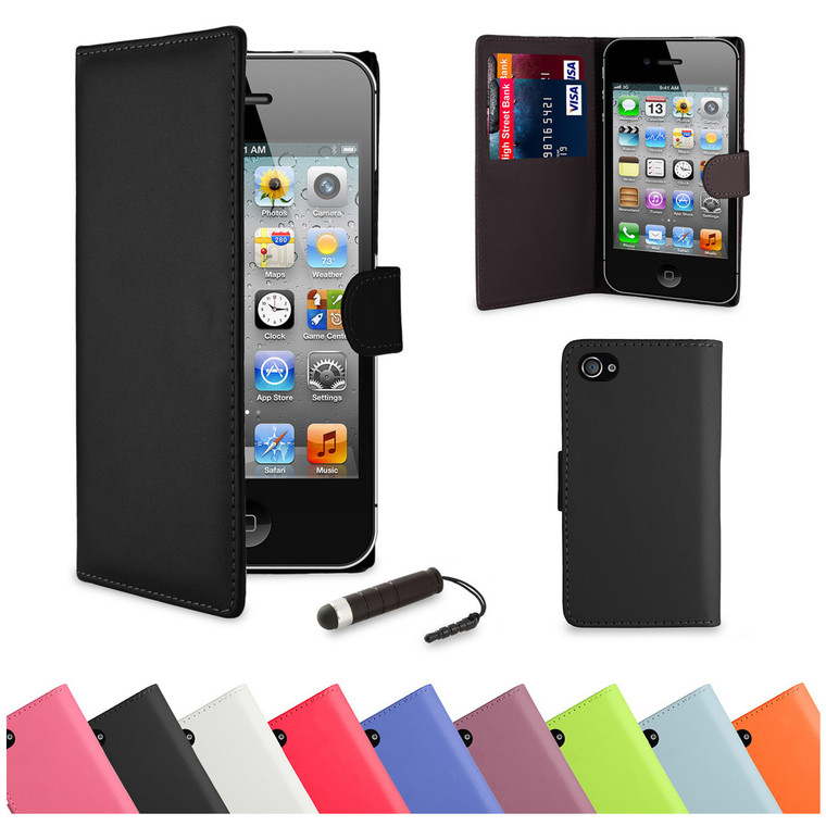 32nd synthetic leather book wallet Apple iPhone 5 Case in a range of stylish colours.
