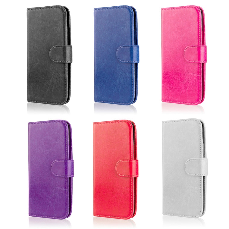 32nd synthetic leather book wallet Samsung Galaxy Tend 2 Lite Case in a range of stylish colours.