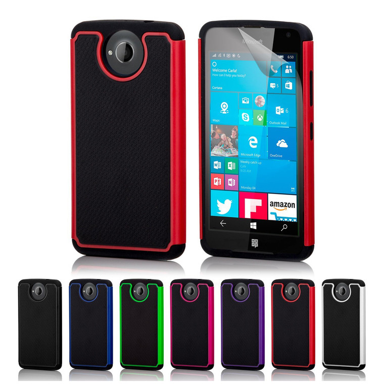 32nd dual-layer shockproof Microsoft Lumia 650 Case in a range of fantastic colours.