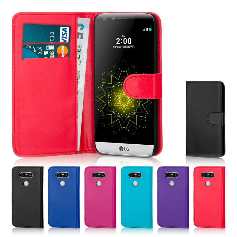 The 32nd Book Wallet LG G5 Case has card slots and handy storage compartment keeping everything in one place.