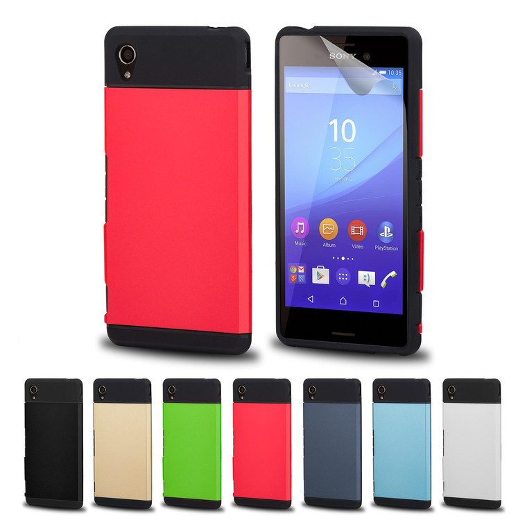 32nd slim shockproof Sony Xperia M4 Aqua Case in a range of stylish colours.