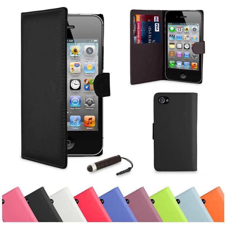 This Apple iPhone SE case comes in a huge range of 9 colours, The Apple iPhone SE case features card slots and storage for bank cards and notes.