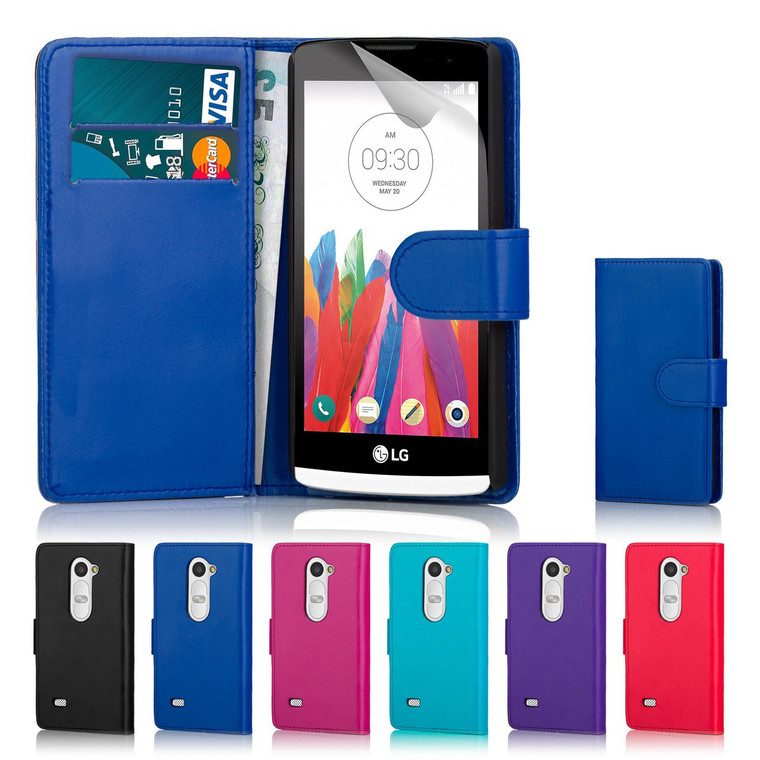 32nd synthetic leather book wallet LG Leon Case in a range of fantastic colours.