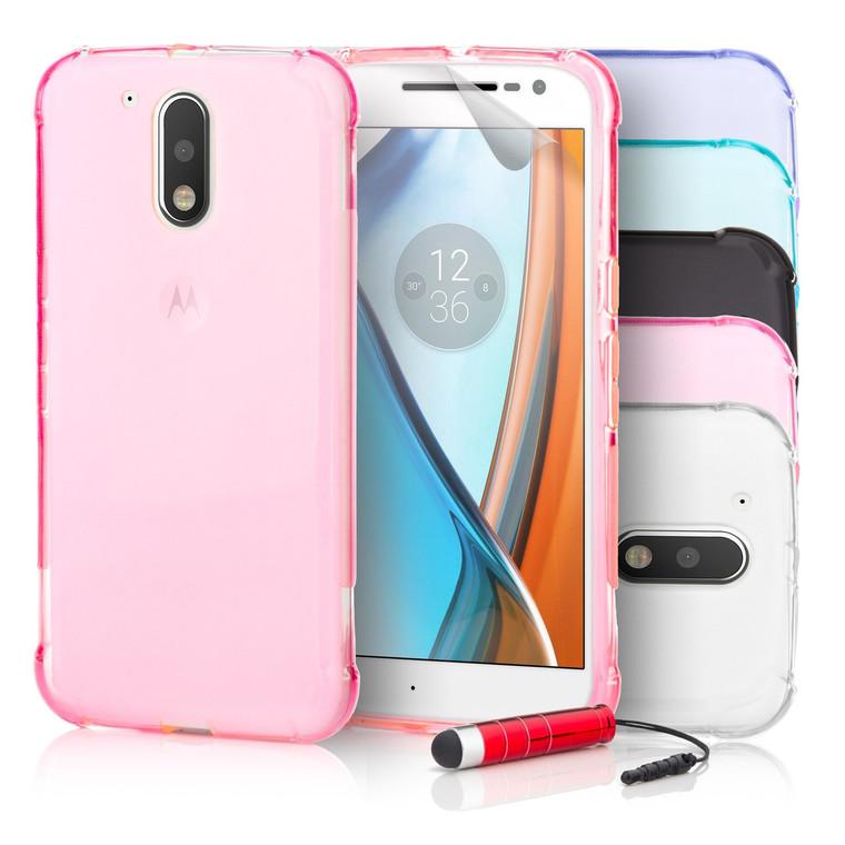 32nd Tough Gel Motorola Moto G4 Play Case.
