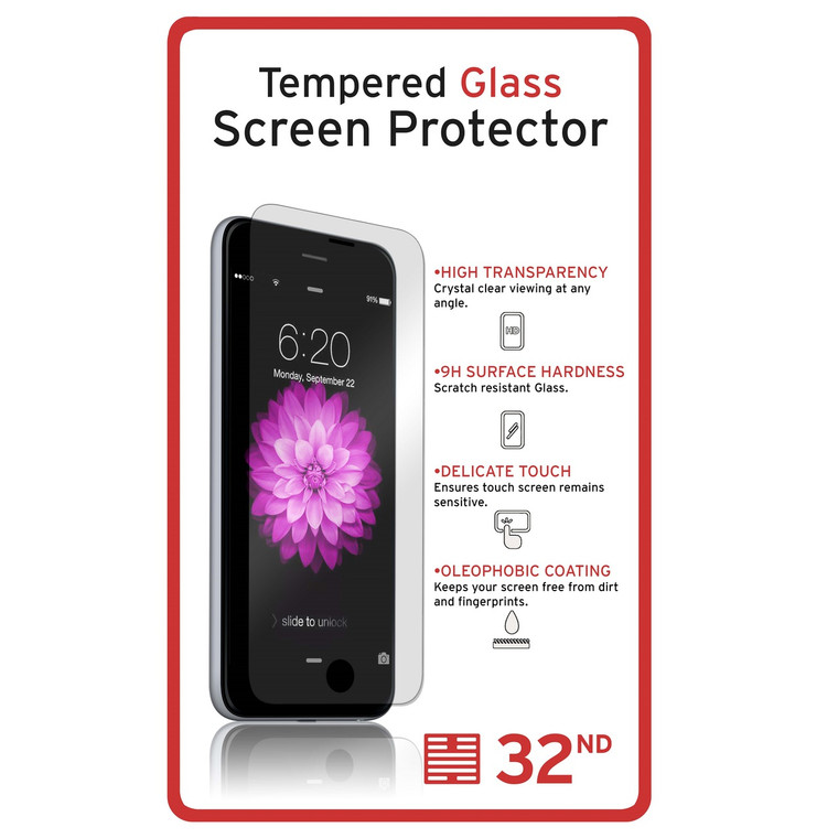 Motorola Moto G4 Play tempered glass screen protector by 32nd.