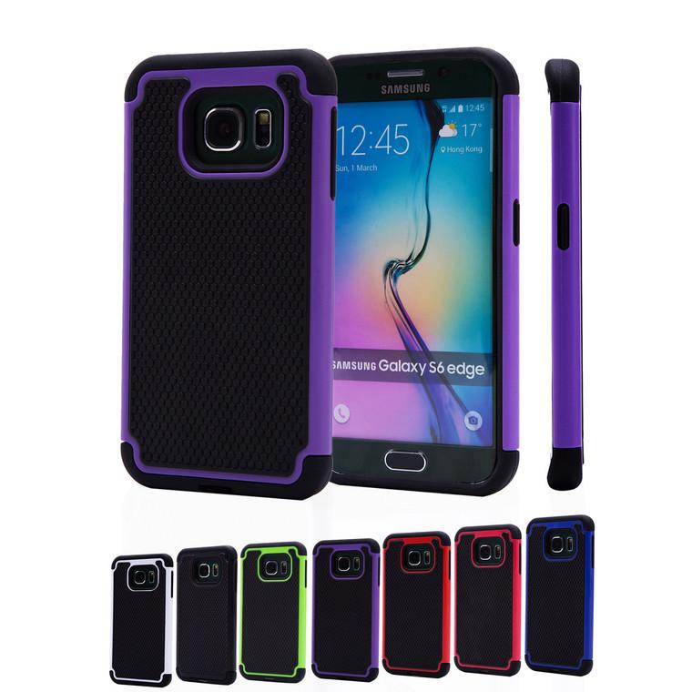 32nd dual-layer shockproof Samsung Galaxy S6 Edge Case.
