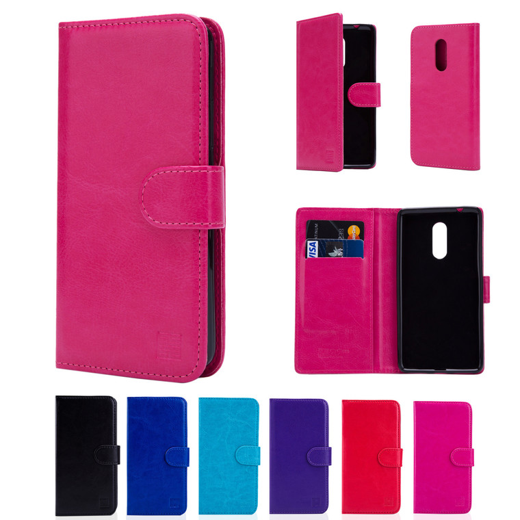 32nd faux leather book wallet Lenovo K6 Note Case in a range of great colours.