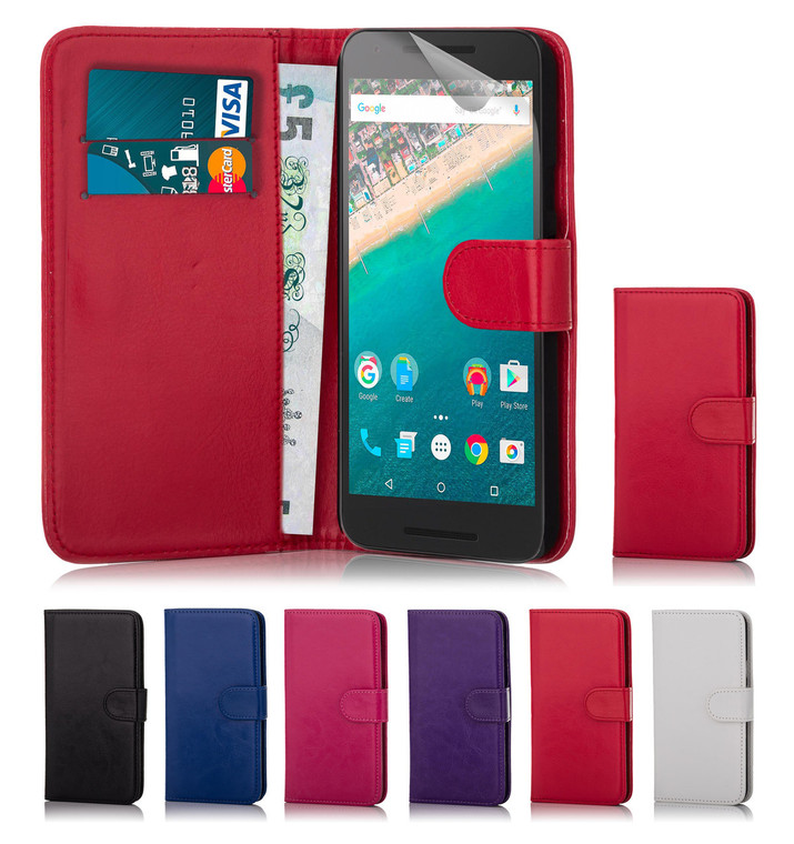 32nd faux leather book wallet Google Pixel XL Case in a great range of colours.