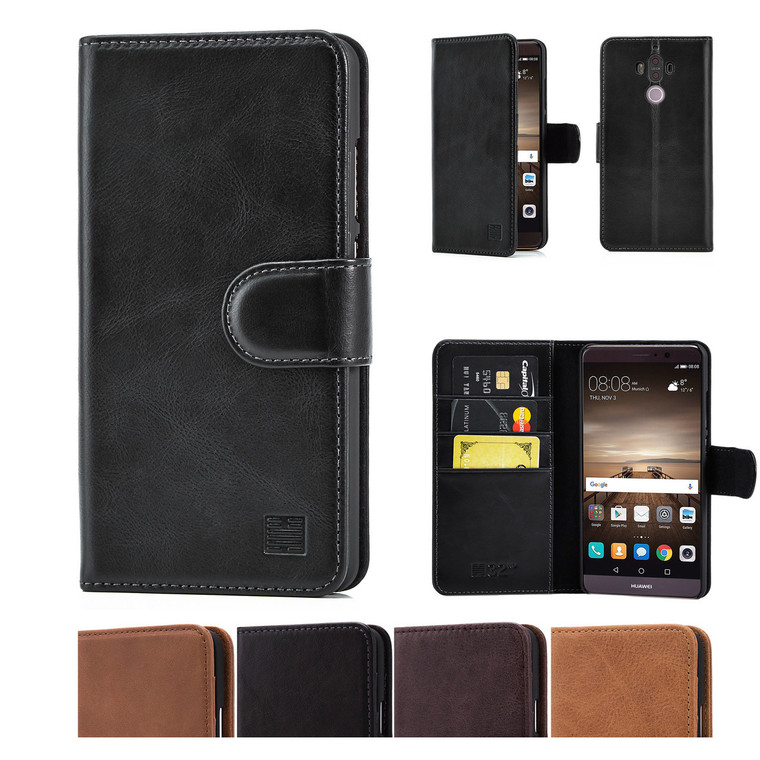 32nd premium leather book wallet Huawei Mate 9 Case.