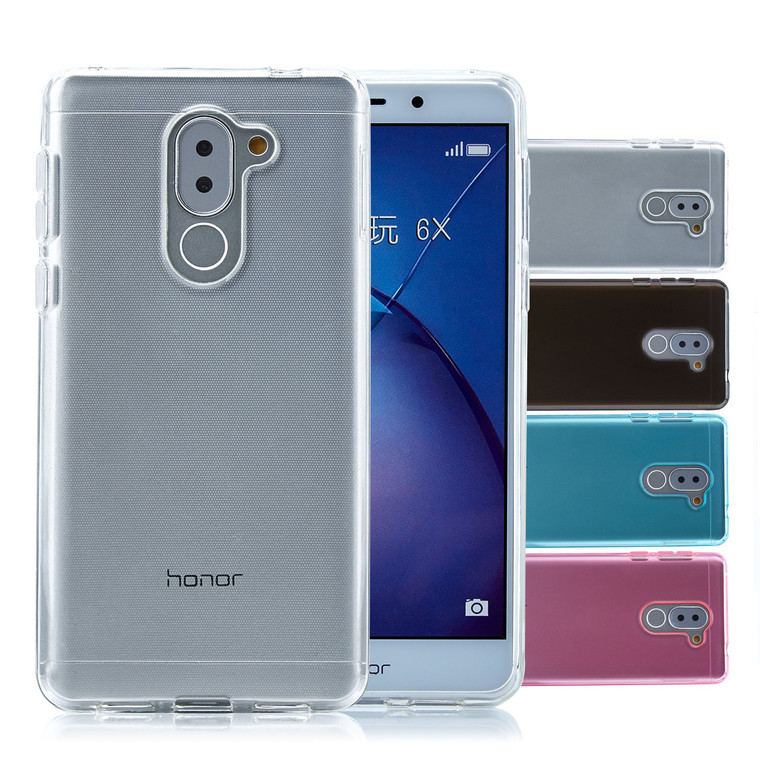32nd clear gel Huawei Honor 6X Case.