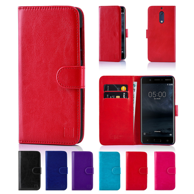 32nd synthetic leather book wallet Nokia 5 (2017) Case.