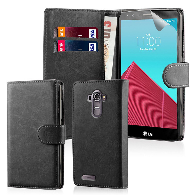 32nd synthetic leather book wallet LG K10 (2017) Case in a range of fantastic colours.