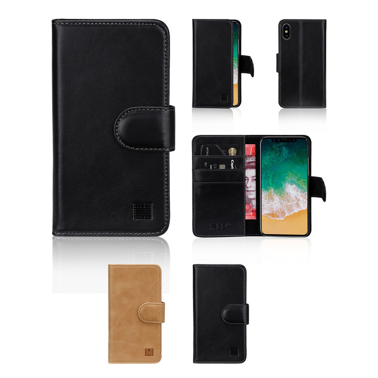 32nd premium leather book wallet Apple iPhone X Case.