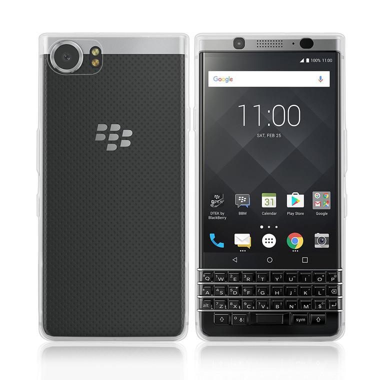 32nd clear gel BlackBerry KEYone Case.