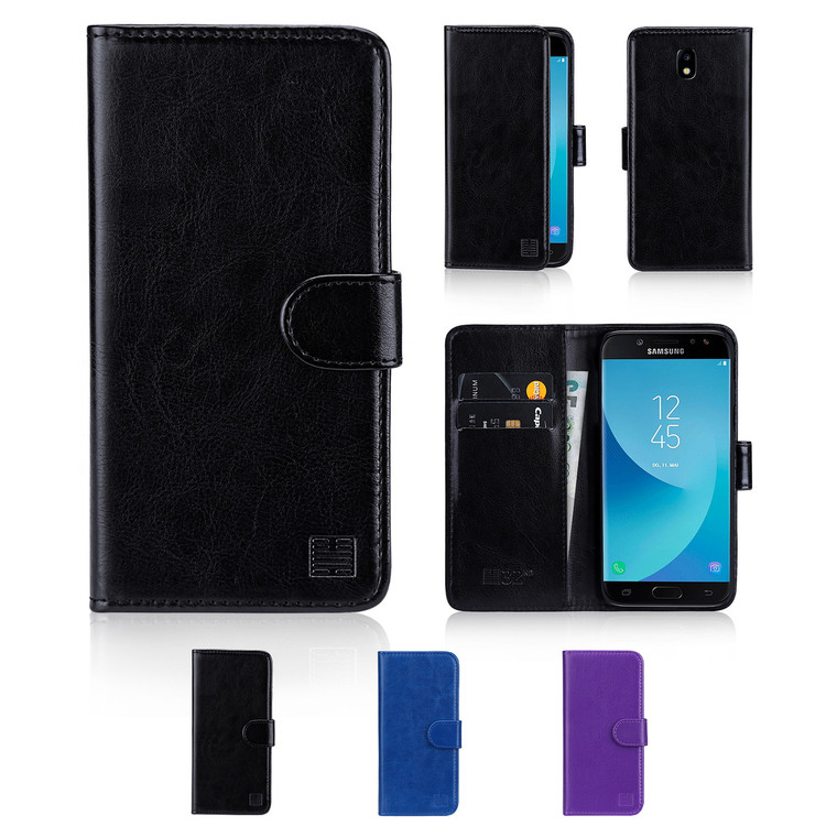 32nd synthetic leather book wallet Samsung Galaxy J5 (2017) Case in a range of great colours.