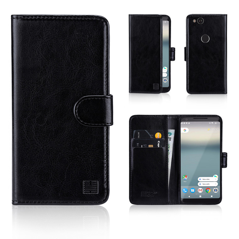 32nd synthetic leather book wallet Google Pixel 2 Case.