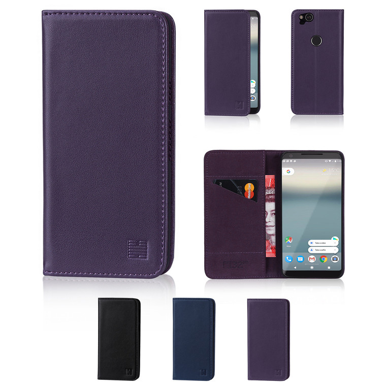 32nd real leather classic wallet Google Pixel 2 Case in a range of fantastic colours.