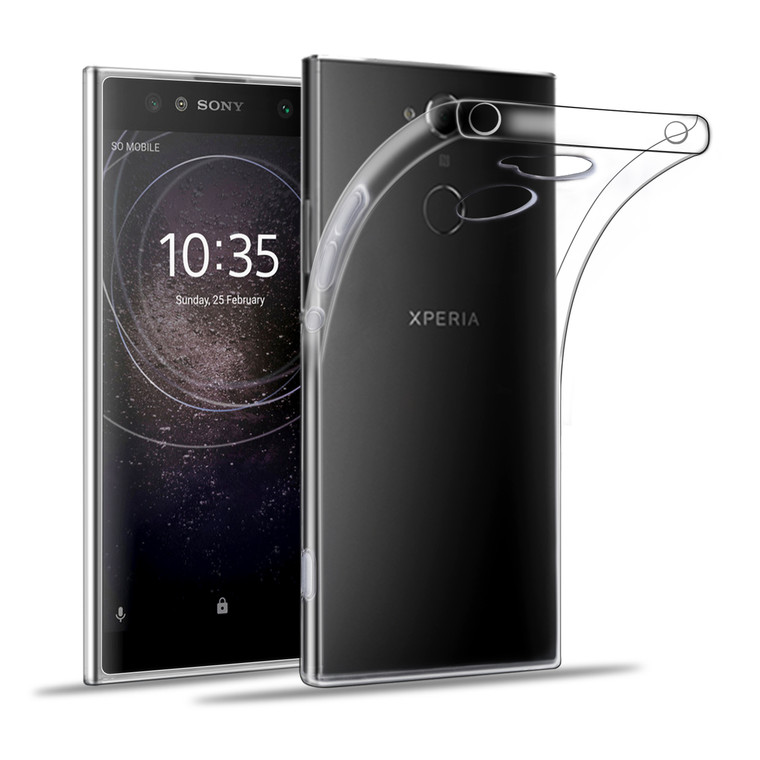 32nd clear gel Sony Xperia XA2 Case.